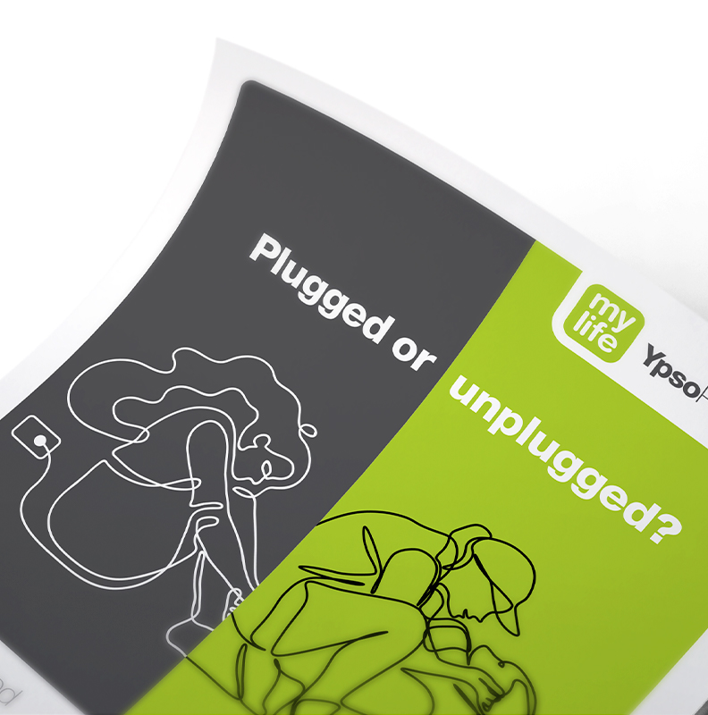 ypsomed unplugged, Campaign, Web/Digital, Advertising, Direct mail